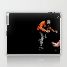 Leroy VS The Zombie Chicken Laptop & iPad Skin