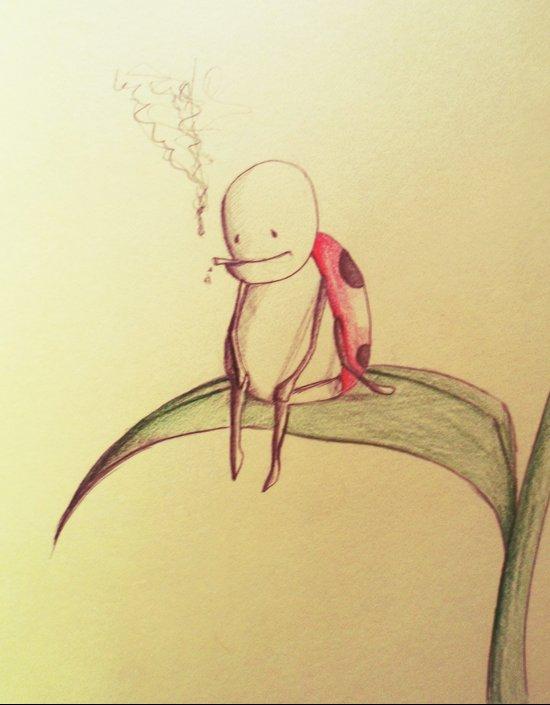 la fumette Art Print