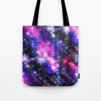 Tribal Galaxy Tote Bag