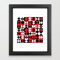 DENSI 1 Framed Art Print