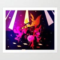 Dance Demon Art Print