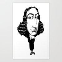 Spinoza Art Print