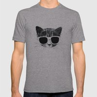 nightcat Mens Fitted Tee Athletic Grey SMALL