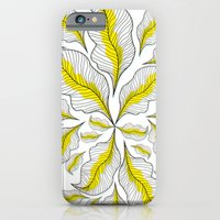 iPhone & iPod Case featuring yellow---line by Süyümbike Güvenç