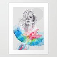 Nadine Art Print