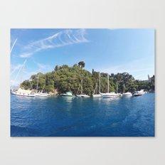 Sail Island Canvas Print