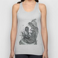 Eatsleepdraw cover art - liquid theme Unisex Tank Top