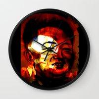 Li'l Kim Wall Clock