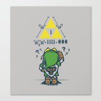 A Link To The Math Canvas Print
