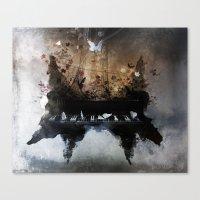 Piandemonium - Piano Ror… Canvas Print