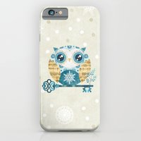 iPhone & iPod Case featuring Winter Wonderland Owl by Sandra Vargas