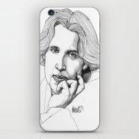 Oscar Wilde iPhone & iPod Skin