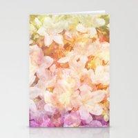 Azalea Flowers Stationery Cards