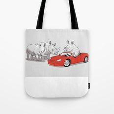Overcompensating Tote Bag