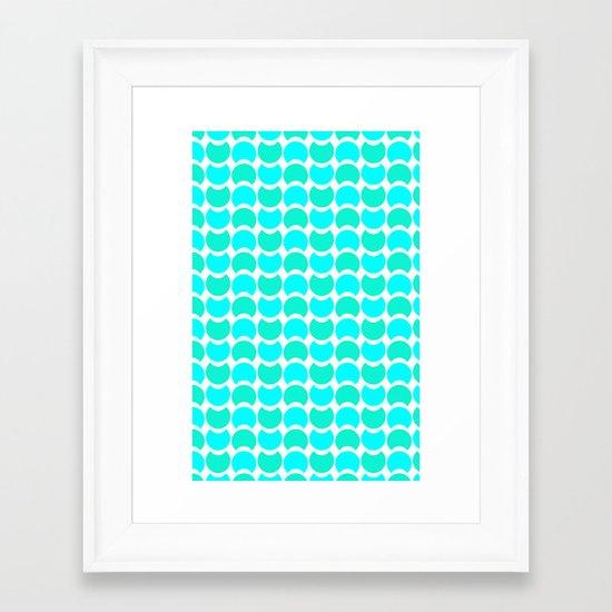HobNob Sea Large Framed Art Print