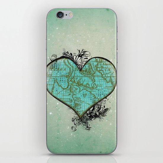 Heart #3 iPhone & iPod Skin