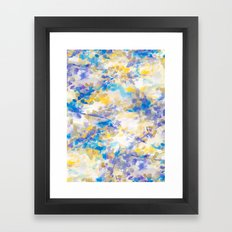 Canopy Blue Framed Art Print