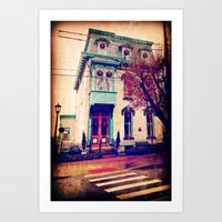 Home For The Holidays Art Print