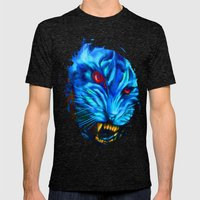 Walk on the Wild Side Mens Fitted Tee Tri-Black SMALL