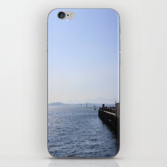 Seattle Waterfront iPhone & iPod Skin