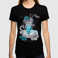 Masochist's Muse Womens Fitted Tee Black SMALL
