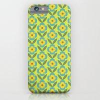 Retro Cold Floral 1 iPhone 6 Slim Case