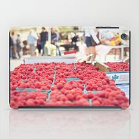 Raspberries iPad Case