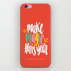 Make Magic This Year iPhone & iPod Skin
