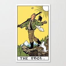 0-The Fool Canvas Print