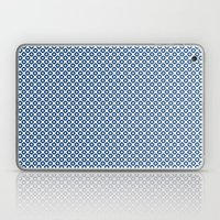 kanoko in monaco blue Laptop & iPad Skin