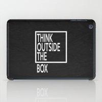 Think Outside The Box 01 iPad Case