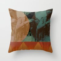 Little Feather Throw Pillow