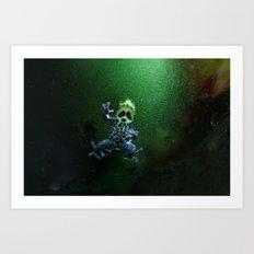 Poison Dart Frog R. Imitator Belly Art Print