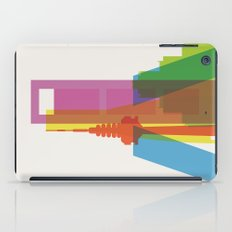 Shapes of Madrid. Accurate to scale. iPad Case