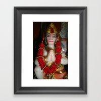 Hanuman Framed Art Print