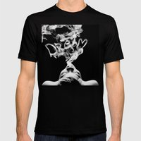 DREAM Mens Fitted Tee Black SMALL