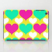 Happy Hearts iPad Case
