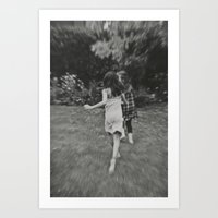 Running... Art Print