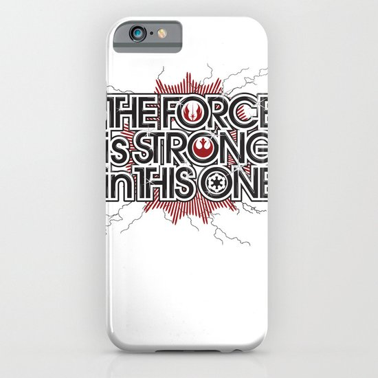 The Force is strong in this one iPhone & iPod Case