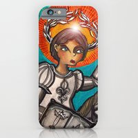 iPhone & iPod Case featuring Joan of Arc by Richard J. Bailey