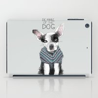 Beware of the dog iPad Case