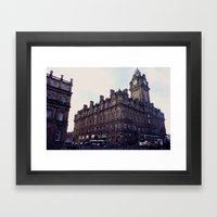 Edinburgh Framed Art Print