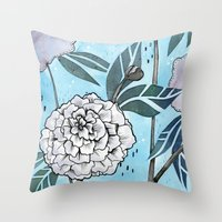 Flowers for you #1 Throw Pillow