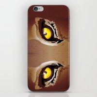 Wild Puma Eyes iPhone & iPod Skin