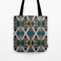Trippin' on a mountain and falling into space Tote Bag