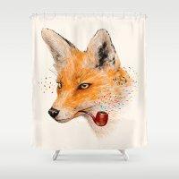 Fox VI Shower Curtain