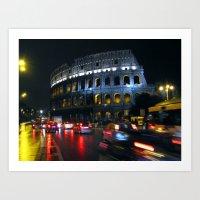 Colosseo: Rome Art Print
