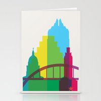 Shapes Of Austin. Accura… Stationery Cards