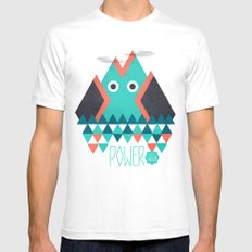 Power Mens Fitted Tee SMALL White