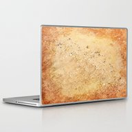 Sea Shells On Sand Laptop & iPad Skin